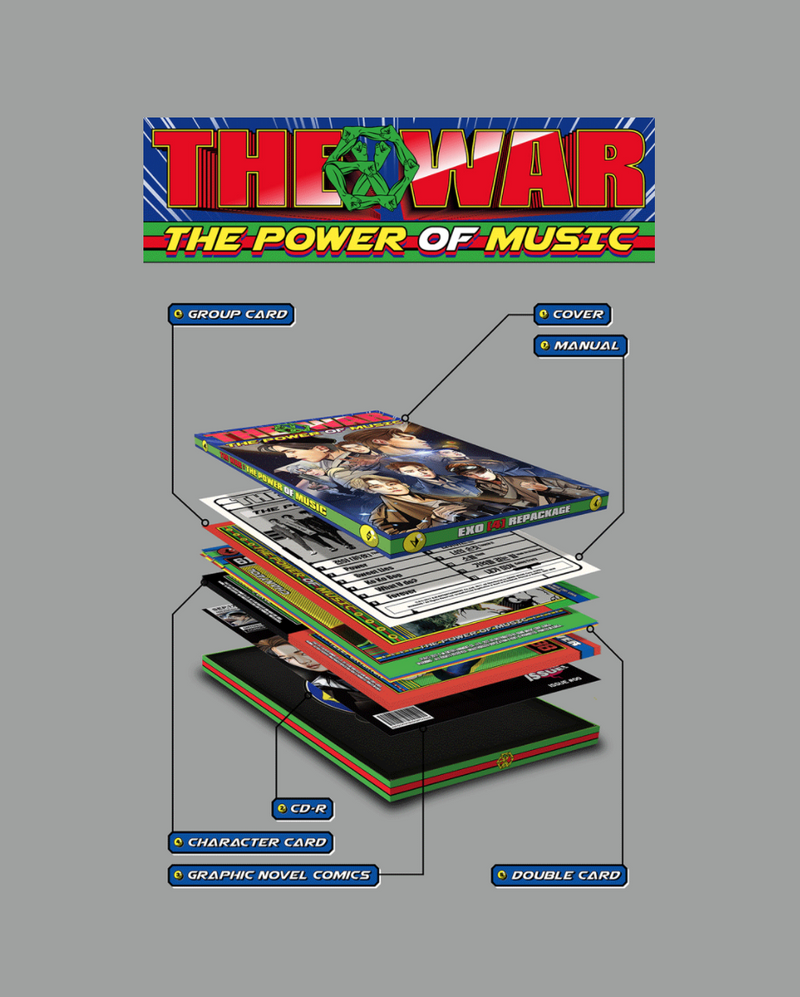 EXO - The Power Of Music Ver. K (Repackage)