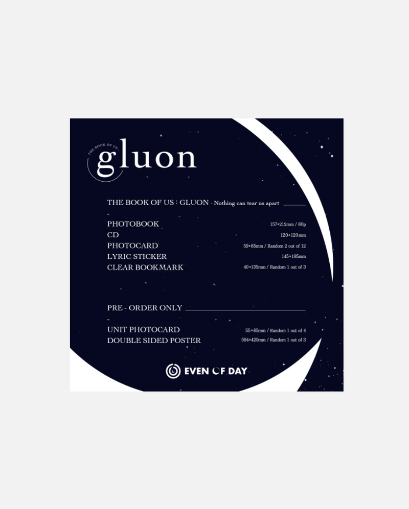 DAY6 - The Book of Us : Gluon – Nothing can tear us apart