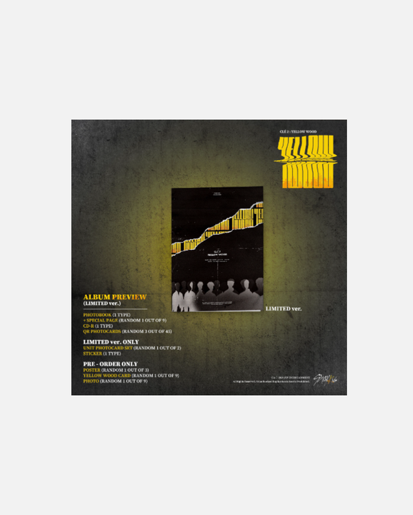 Stray Kids - YELLOW WOOD LIMITED EDITION
