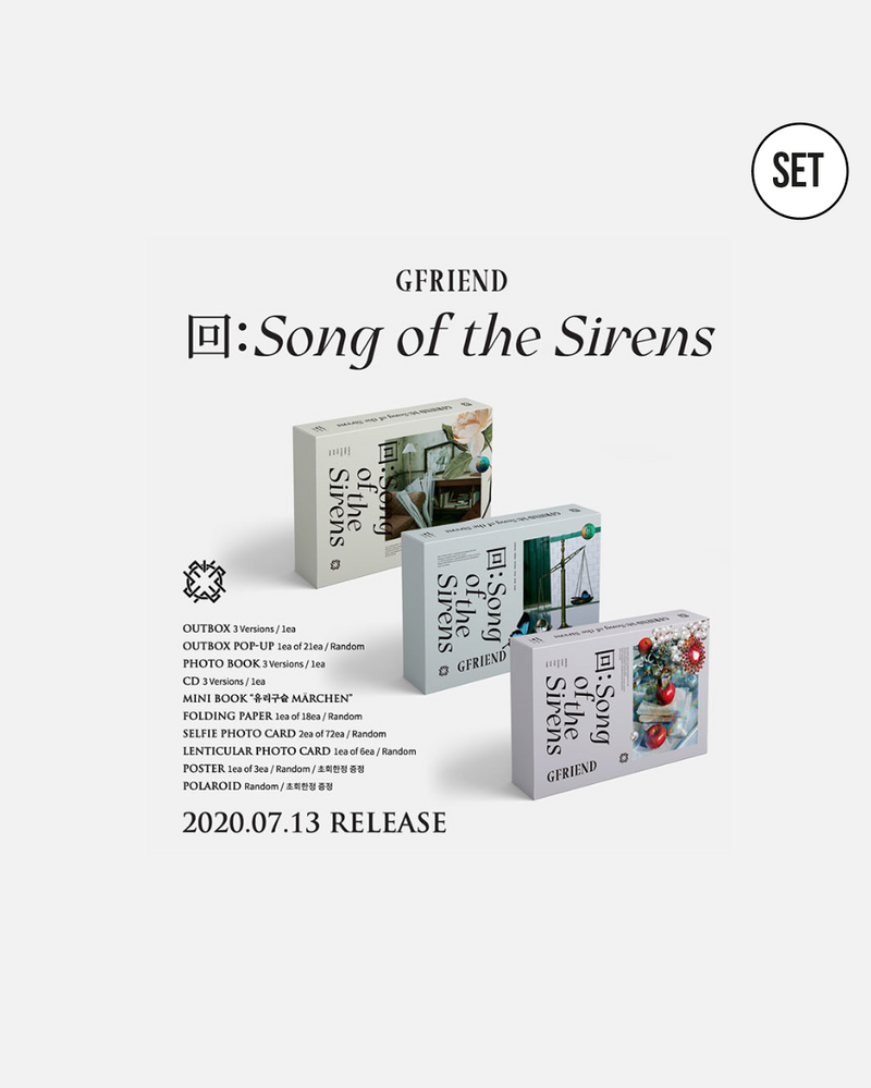 GFRIEND - 回:Song of the Sirens (Weverse)