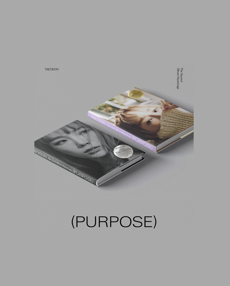 Girls' Generation TaeYeon - Purpose Repackage