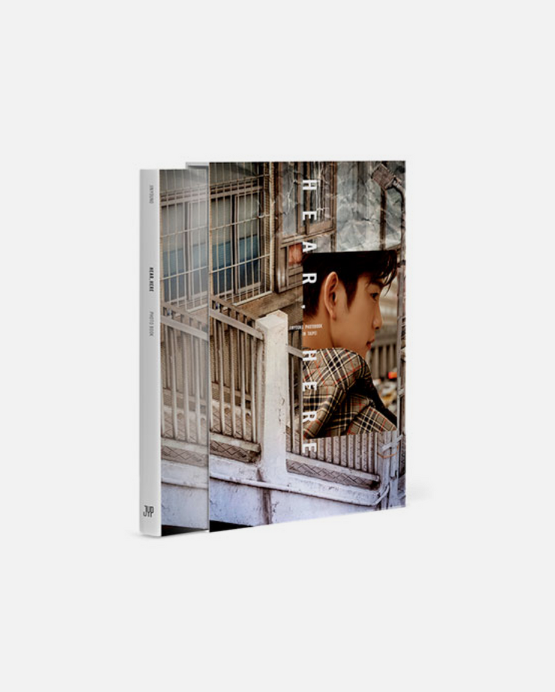 GOT7 JINYOUNG - HEAR , HERE / PHOTOBOOK IN TAIPEI
