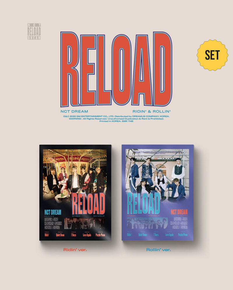 NCT DREAM - SET Reload