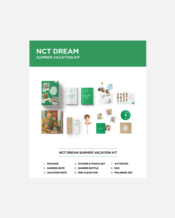 NCT Dream - Summer vacation kit