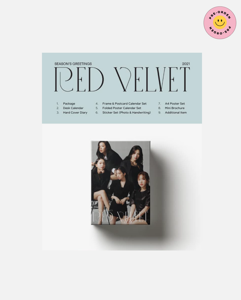 Red Velvet - 2021 SEASON'S GREETINGS [PRE-ORDEN]