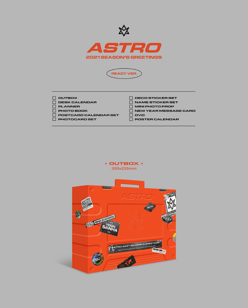 ASTRO - 2021 SEASON'S GREETINGS [PRE-ORDEN]