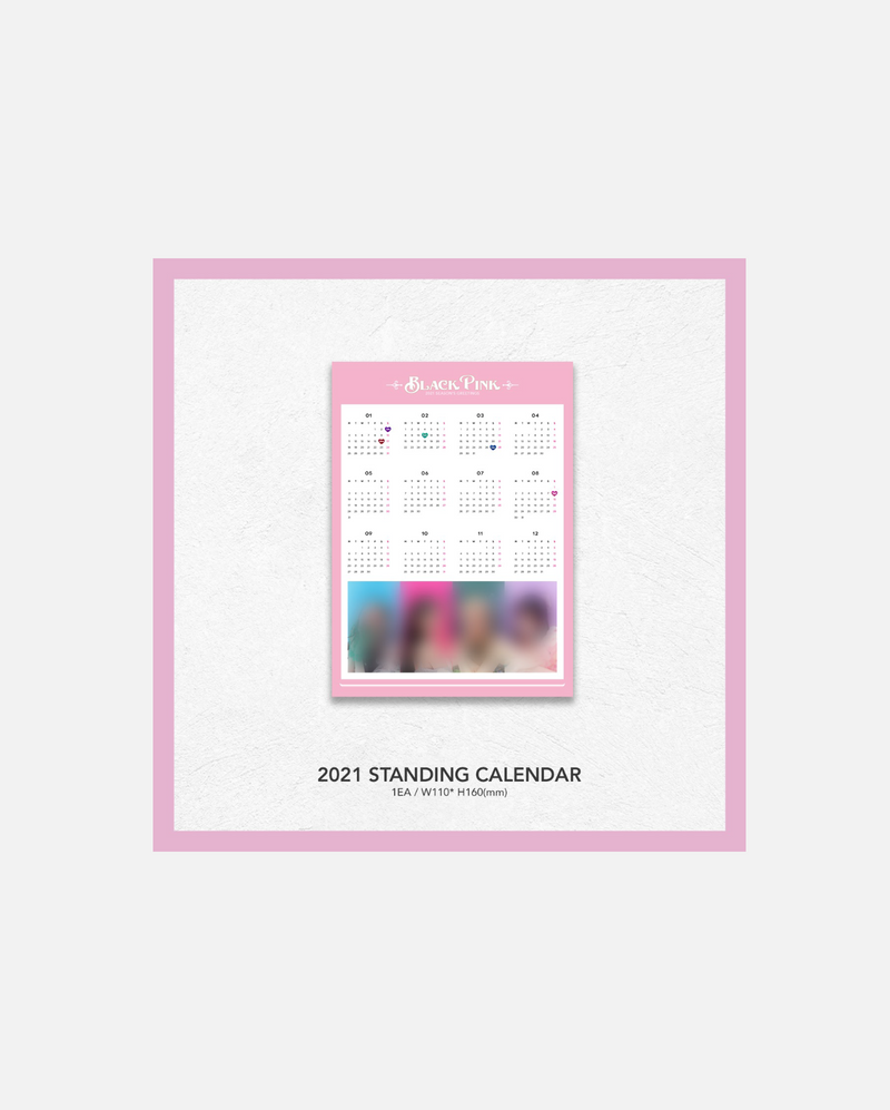 BLACKPINK'S 2021 SEASON'S GREETINGS