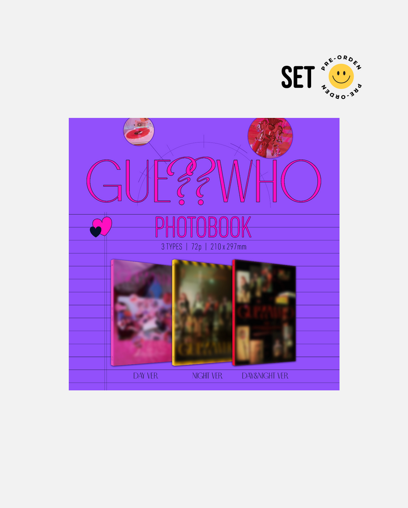 ITZY - GUESS WHO (Set Ver.) [PRE-ORDEN]