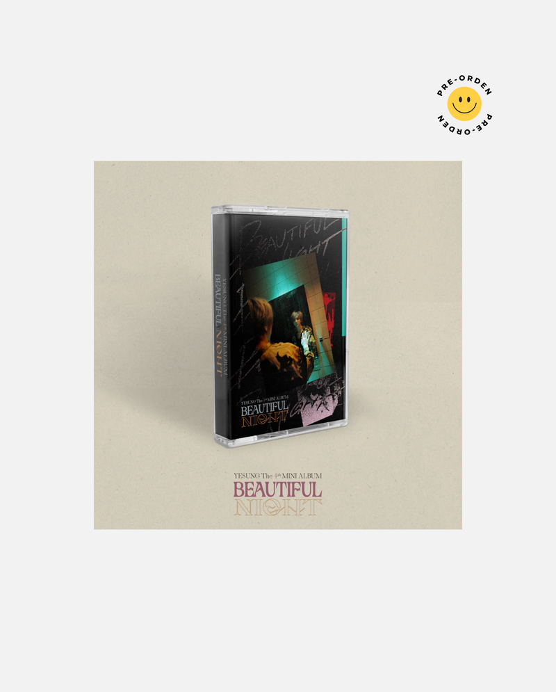 YESUNG - Beautiful Night Cassette Tape Ver. [PRE-ORDEN]