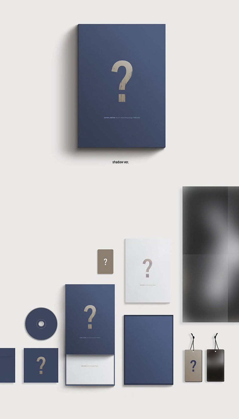 SUPER JUNIOR - Repackage [TIMELESS]