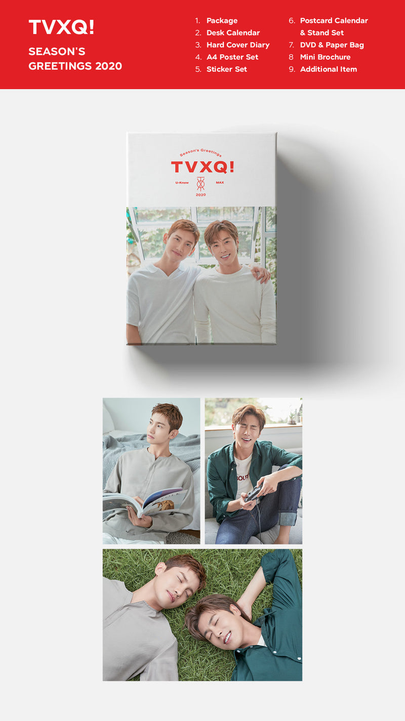 TVXQ - SEASON'S GREETINGS 2020