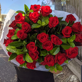 50 Red Roses in a Giant Bouquet