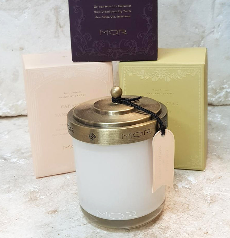 MOR Scented Home Library Candle