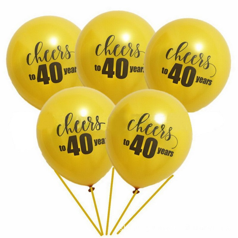 10X Cheers to 30 Year Balloon Happy 30th Birthday Party Decor Anniversary Supply