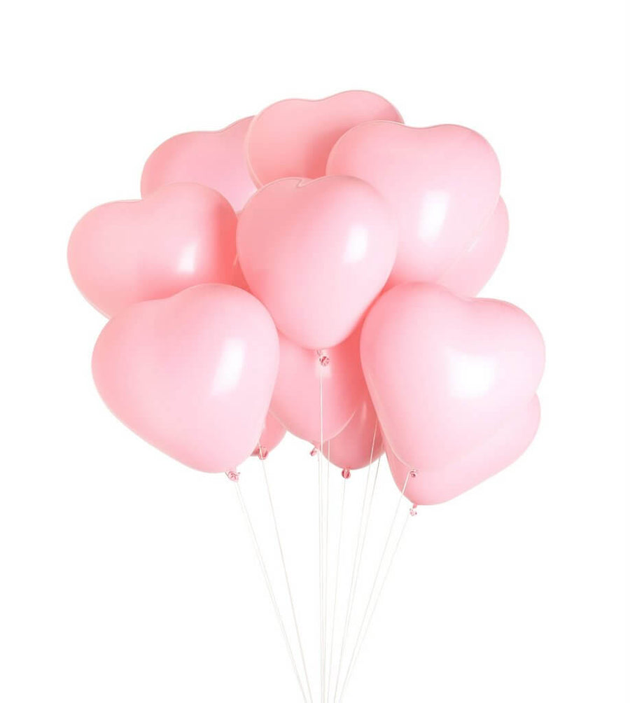 12 Inch Helium Quality Pastel Blush Macaron Candy Latex Balloon Bouquet - Wedding Party Decorations