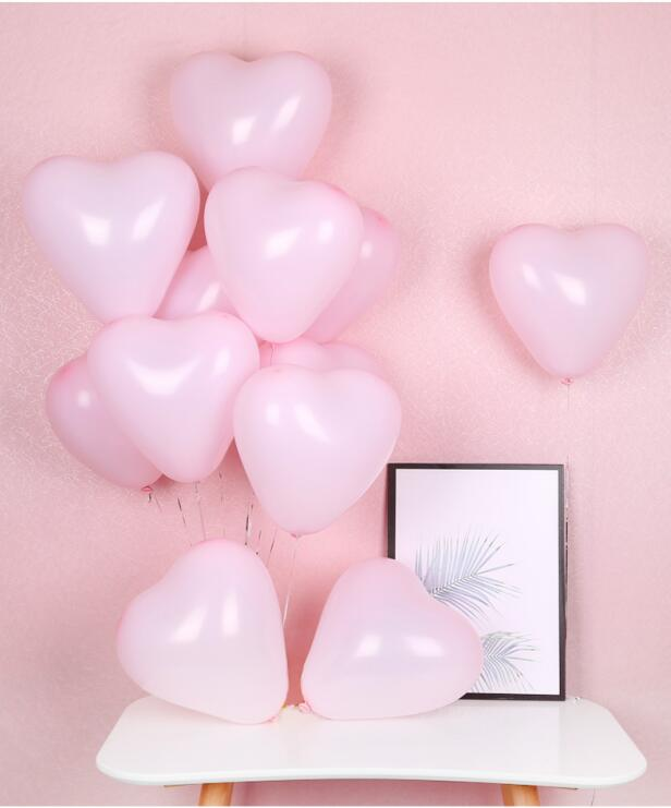 12 Inch Helium Quality Pastel Pink Macaron Candy Latex Balloon Bouquet - Wedding Party Decorations