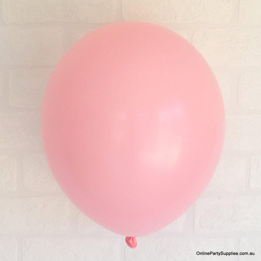"12"" Baby Pink Latex Balloon Bouquet - 10 Pieces"