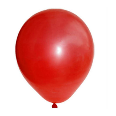 12 Inch Red Latex Party Balloon - Christmas Party Decorations