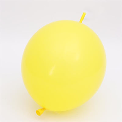 "12"" Latex Linking Balloon 10 Pack"
