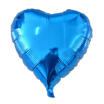 "Online Party Supplies 18"" Heart Shaped Foil Party Balloon"