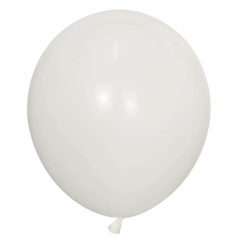 "18"" White Wedding Bridal Shower Latex Balloon"