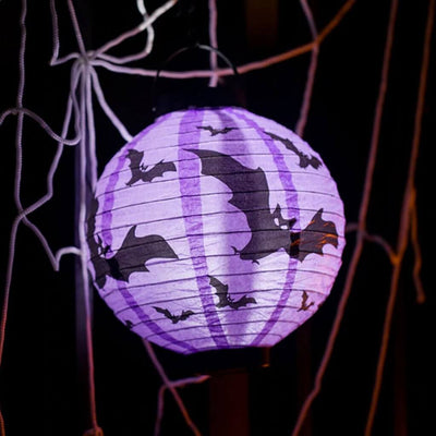 20cm Halloween flying vampire bats decorative hanging paper lantern
