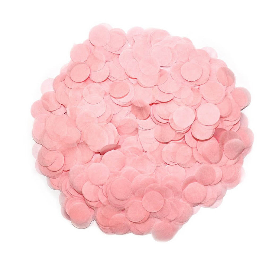 20g Round Circle Tissue Paper Party Confetti Table Scatters - Blush Pink
