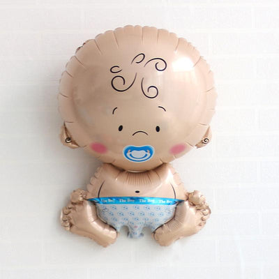 28'' Baby Boy Shaped Helium Foil Balloon - Online Party Supplies