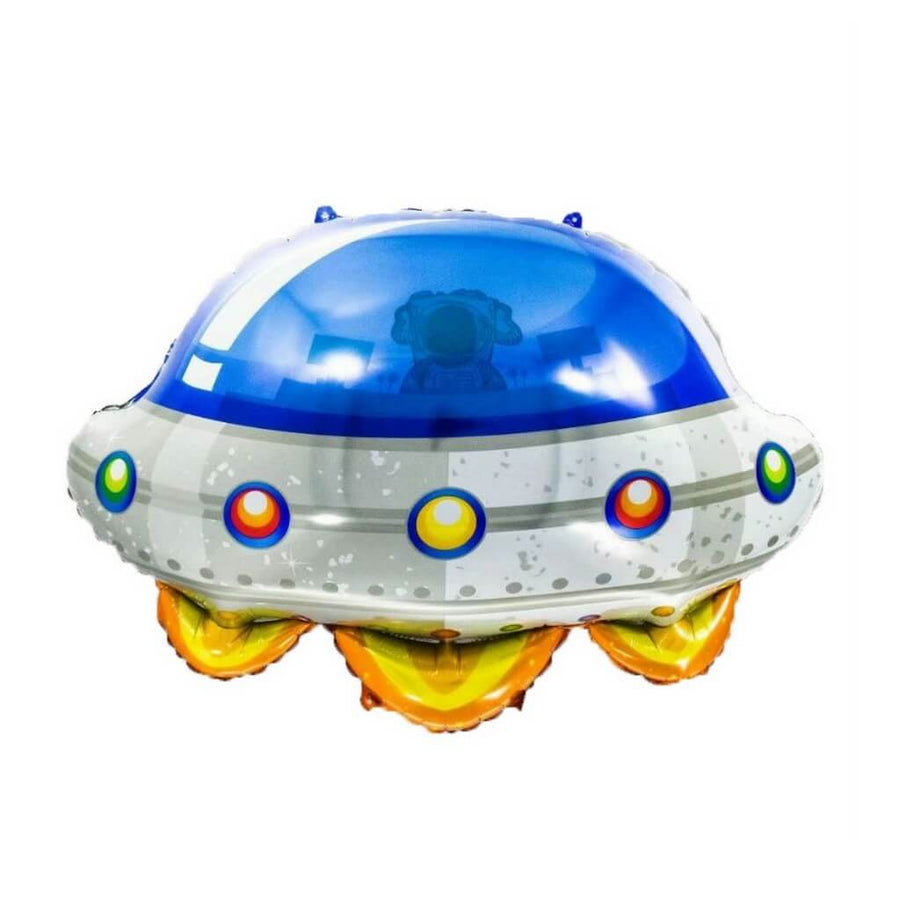 "34"" Flying Saucer Shaped Foil Balloon"