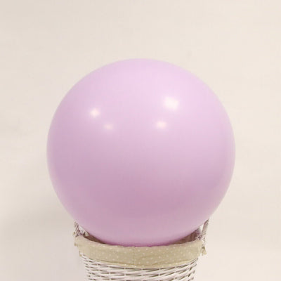 "36"" Jumbo Pastel Lilac Purple Round Macaron Latex Bridal Shower Balloon"