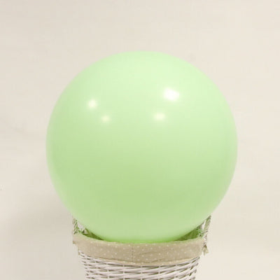 36 Inch Jumbo Pastel Mint green Round Macaron Latex Wedding Balloons