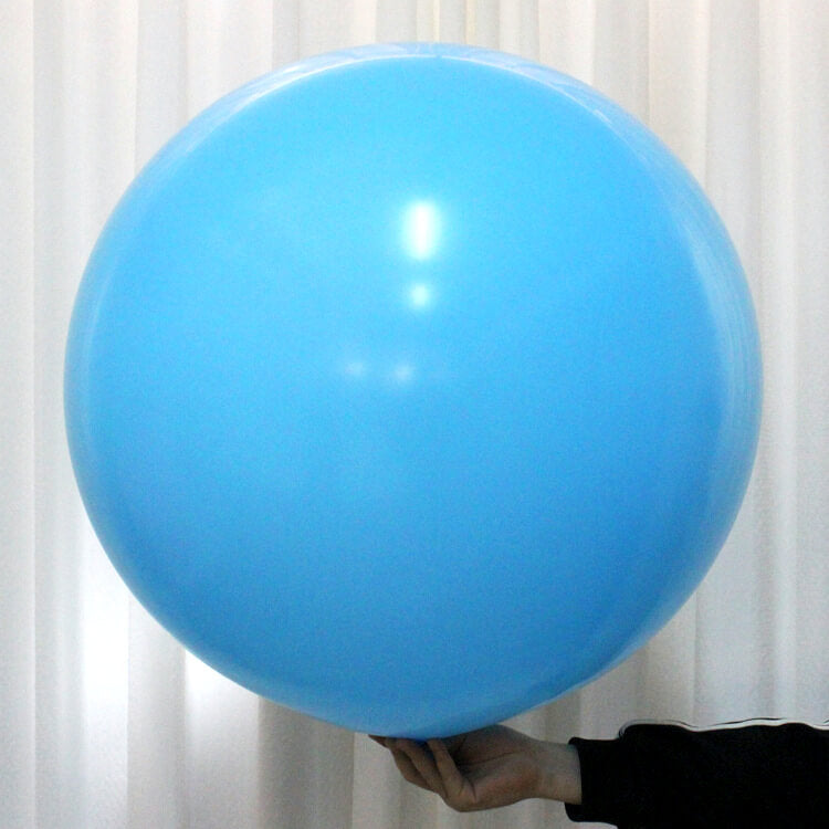 "36"" Online Party Supplies Jumbo Round Baby Blue It's A Boy Baby Shower Balloon"