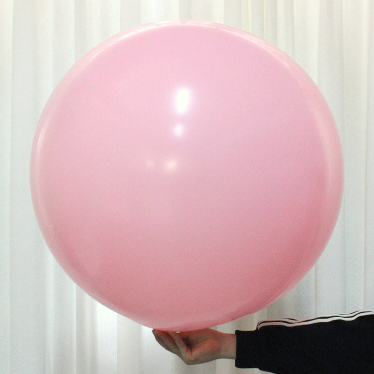 "36"" Online Party Supplies Jumbo Round Baby Pink It's A girl Baby Shower Balloon"