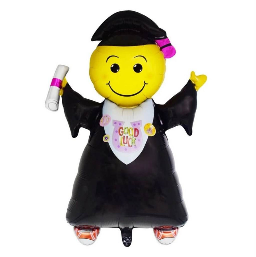 "18"" Congrats You Did It Graduate Boy Shaped Foil Balloon - Graduation Fiesta Party"