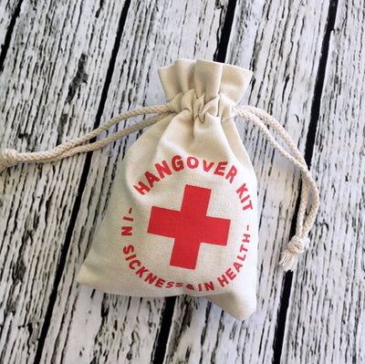 5 x Hangover Kit Bags - Online Party Supplies