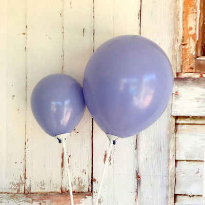 "5"" / 10"" Pastel Navy Blue Macaron Latex Balloons (Pack of 10)"