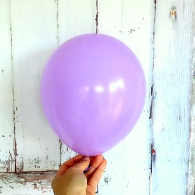 "5"" / 10"" Pastel violet Purple Macaron Latex Balloon (Pack of 10)"