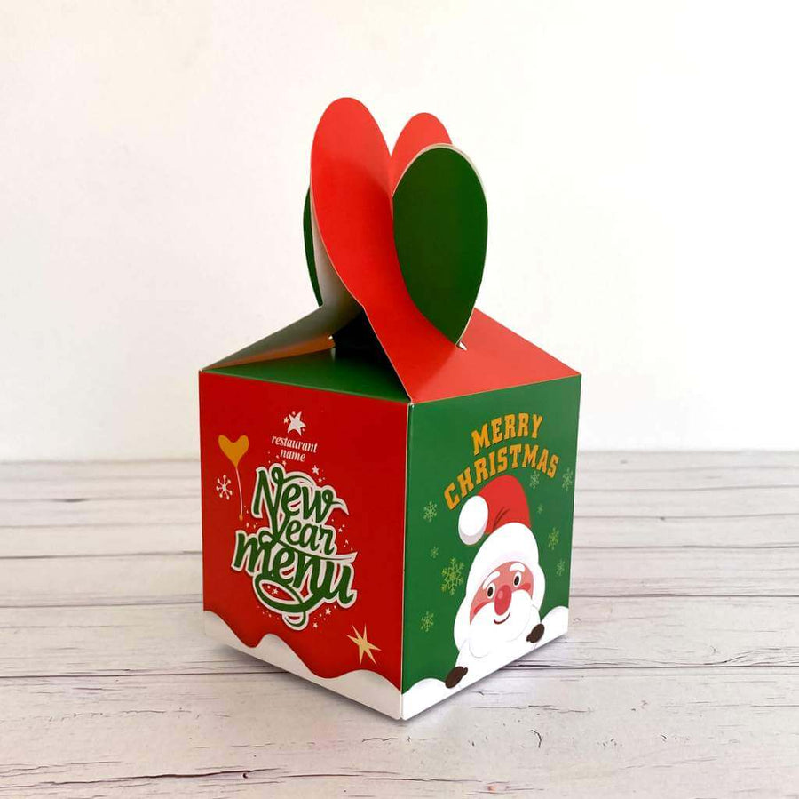 Red Green New Year Menu Gift Box 5 Pack