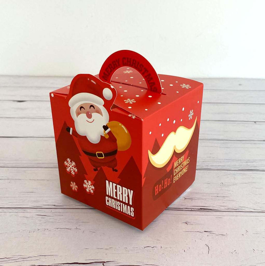 Red Merry Christmas Santa Ho Ho Ho Candy Box 5 Pack