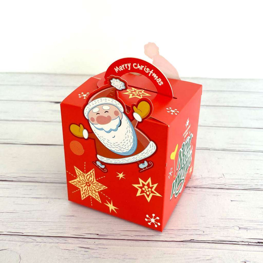 Red New Year Menu Gift Box 5 Pack - Xmas Gift Wrapping and Decorations Ideas