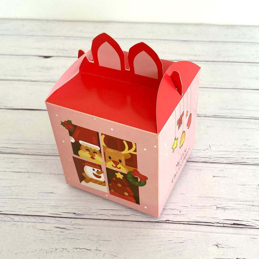 Red Pink Merry Christmas Sweets Box 5 Pack