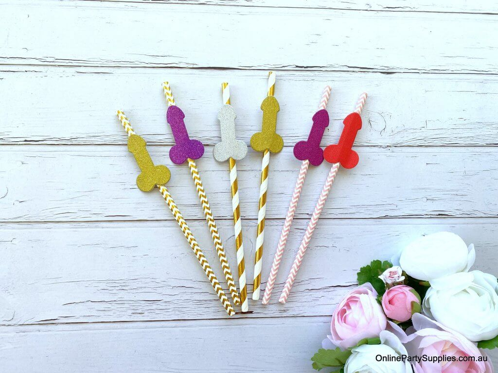 WILLY STRAWS X 3 PACK LADIES HEN PARTY NIGHT NOVELTY DICKY ACCESSORY