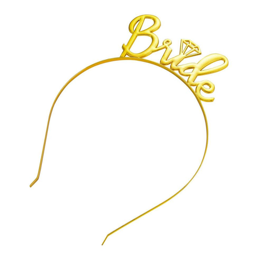 Premium Quality Metal Gold Bride Tiara