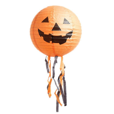 Decorative Halloween Hanging Paper Lantern - 5 Styles, 3 Sizes