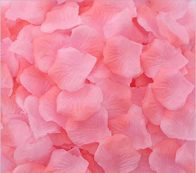 Artificial baby pink & peach Silk Wedding Runner Aisle Flower Girls Rose Petals Australia