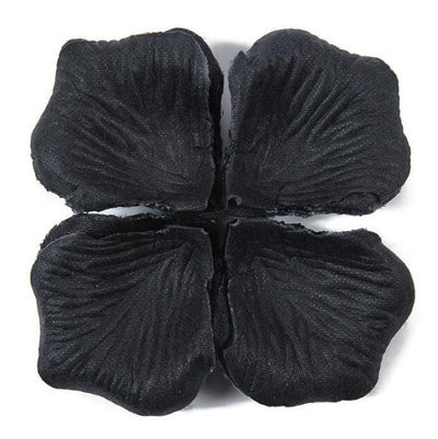 Online Party Supplies Australia Artificial Faux Black Silk Wedding Party Rose Petals