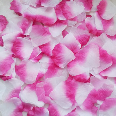 Artificial white and pink Silk Wedding Runner Aisle Flower Girls Rose Petals Australia