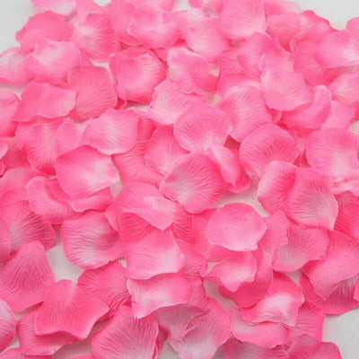 Artificial pink & hot pink Silk Wedding Runner Aisle Flower Girls Rose Petals Australia