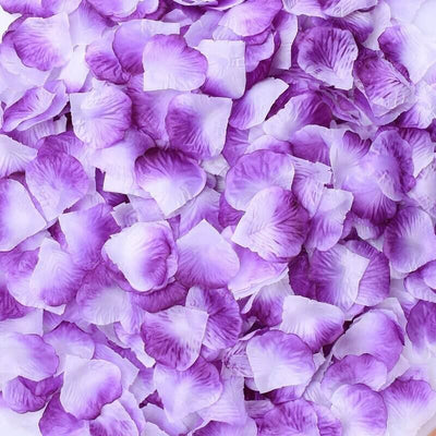 Artificial white purple Silk Wedding Runner Aisle Flower Girls Rose Petals Australia