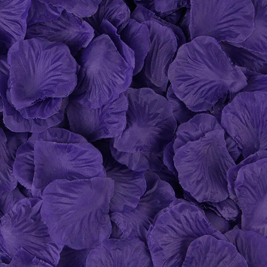 Artificial eggplant dark purple Silk Wedding Runner Aisle Flower Girls Rose Petals Australia